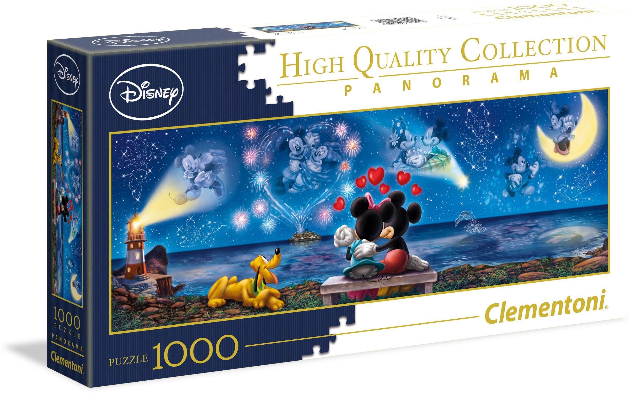 Clementoni® Puzzle »Disney Mickey und Minnie«, 1000 Teilig