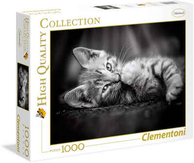 Clementoni® Puzzle »High Quality Collection - Kätzchen«, 1000 Puzzleteile, Made in Europe
