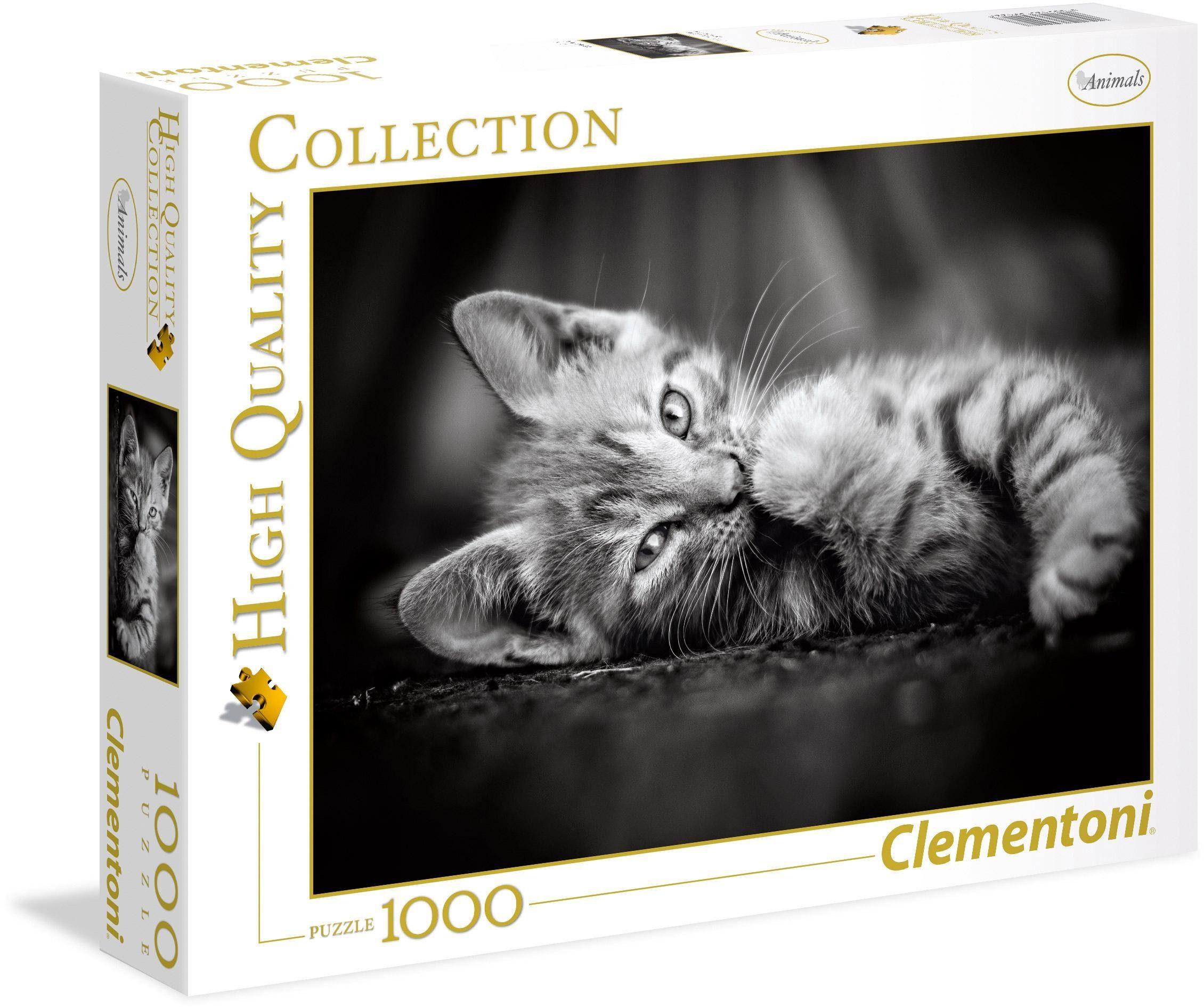 Clementoni Puzzle, 1000 Teile, »Kätzchen«