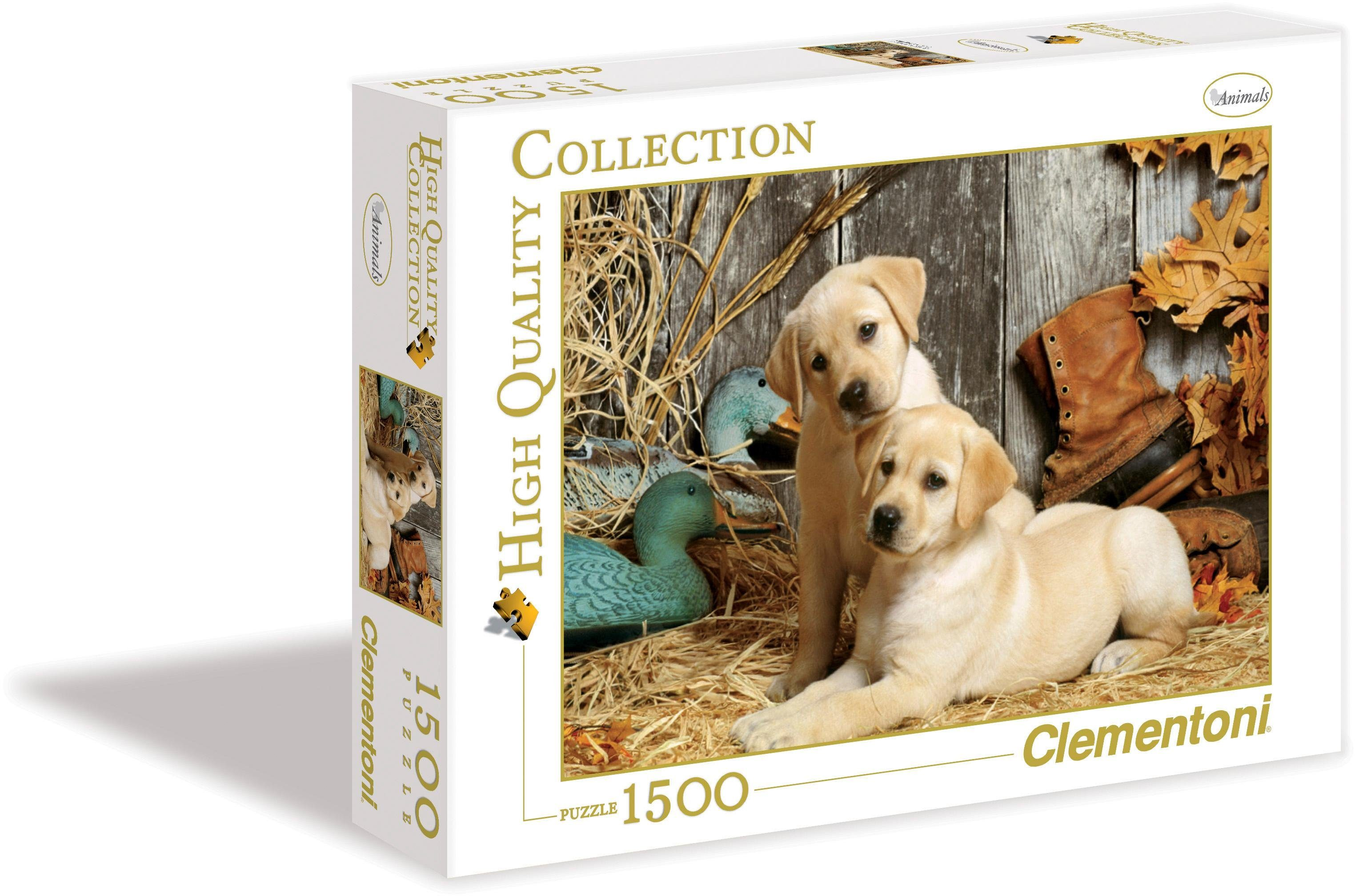Clementoni Puzzle, 1500 Teile, »Hunting Dogs«