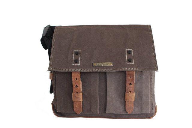 Margelisch Messenger Bag »Nevel 1«, im modischen Retrolook | Taschen > Business Taschen > Messenger Bags | Grün | Margelisch