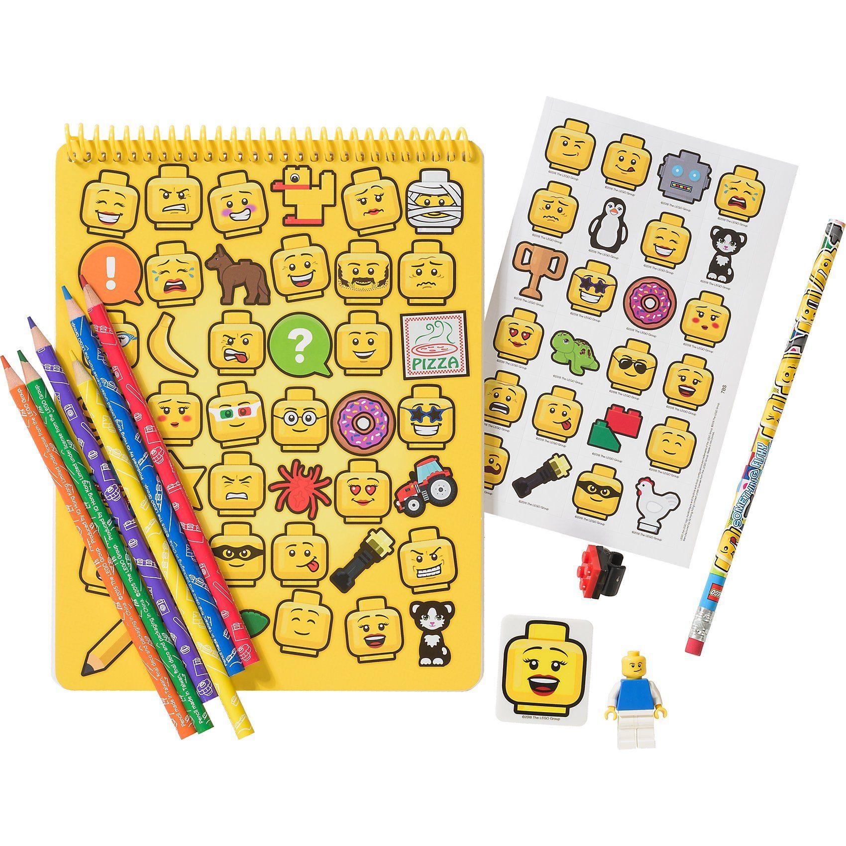 LEGO ® Iconic Schreibwarenset, 12-tlg.