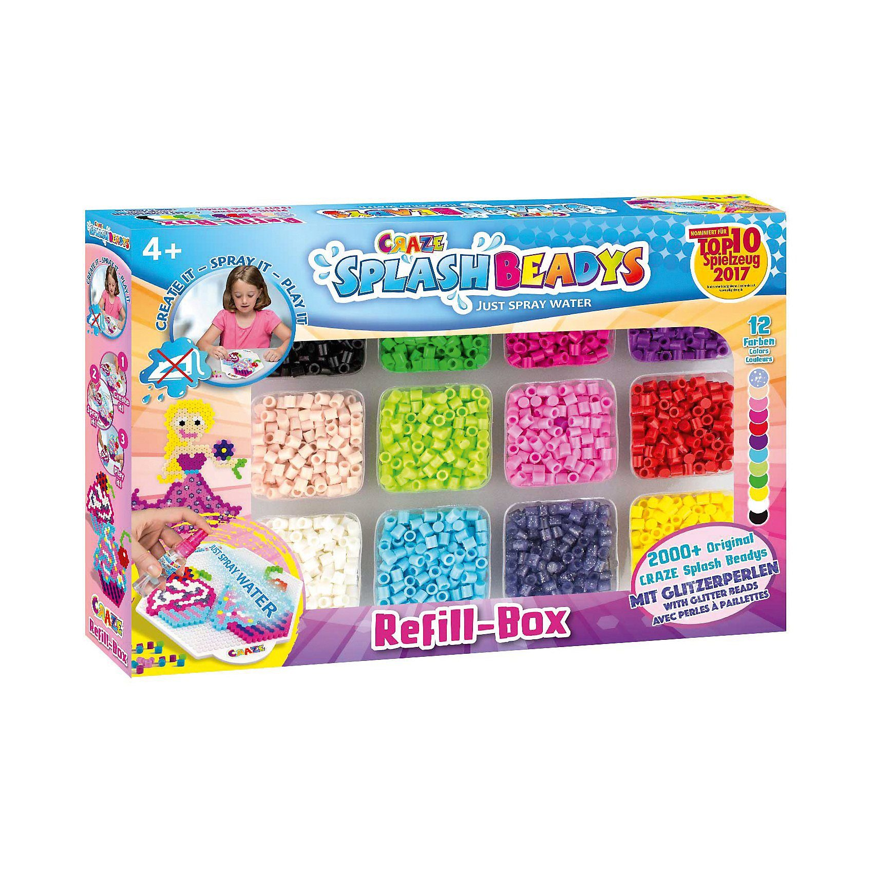 CRAZE Splash Beadys Refill Set - Girls