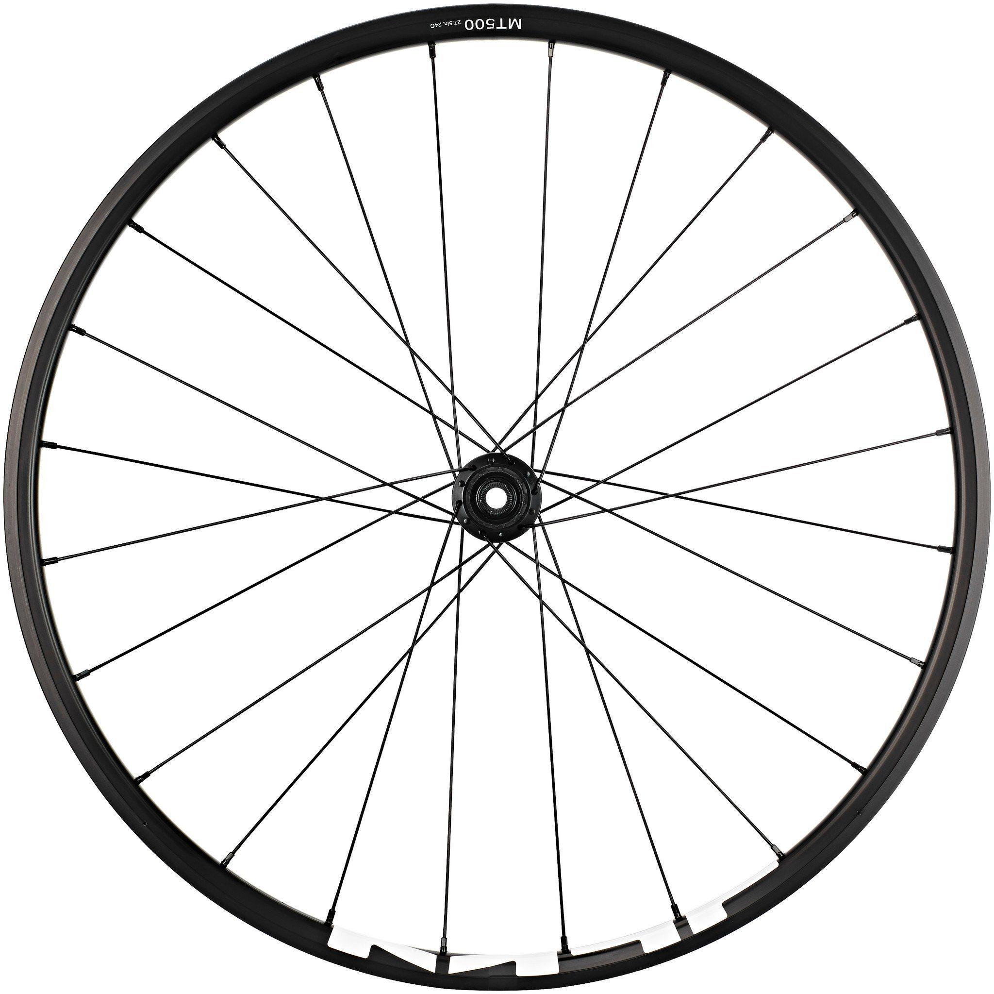 "Shimano Laufrad »WH-MT500 MTB Hinterrad 27,5"" Disc CL Clincher«"