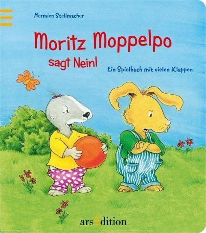 Buch mit Papp-Einband »Moritz Moppelpo sagt Nein!«