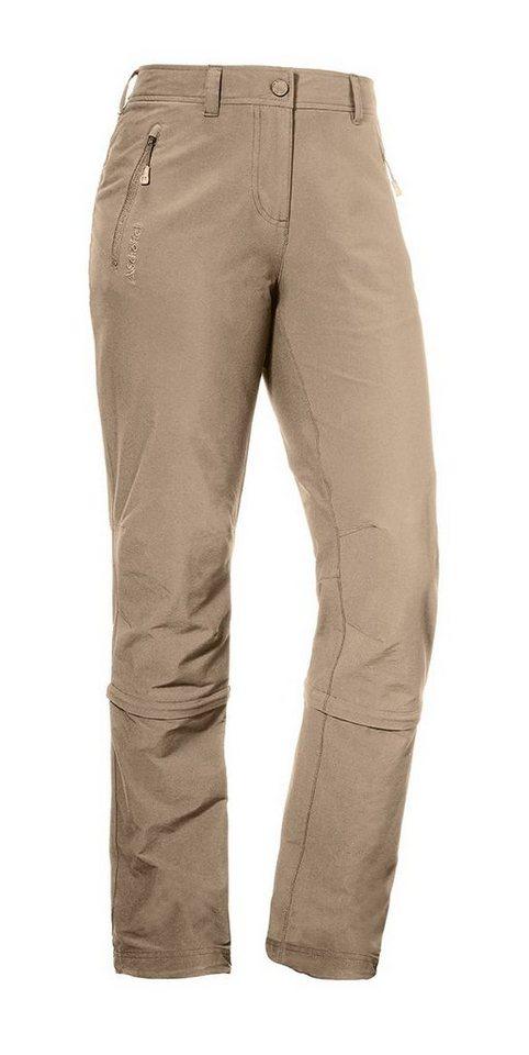 Schöffel Outdoorhose »Pants Santa Fe Zip Off«   Bekleidung > Hosen > Outdoorhosen   Braun   Schöffel