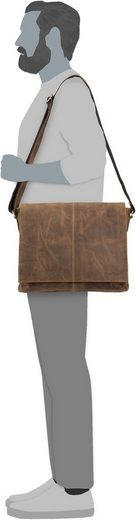 Kuriertasche« 1632 »vintage Tablet Notebooktasche Greenburry PwInZ0z4qP