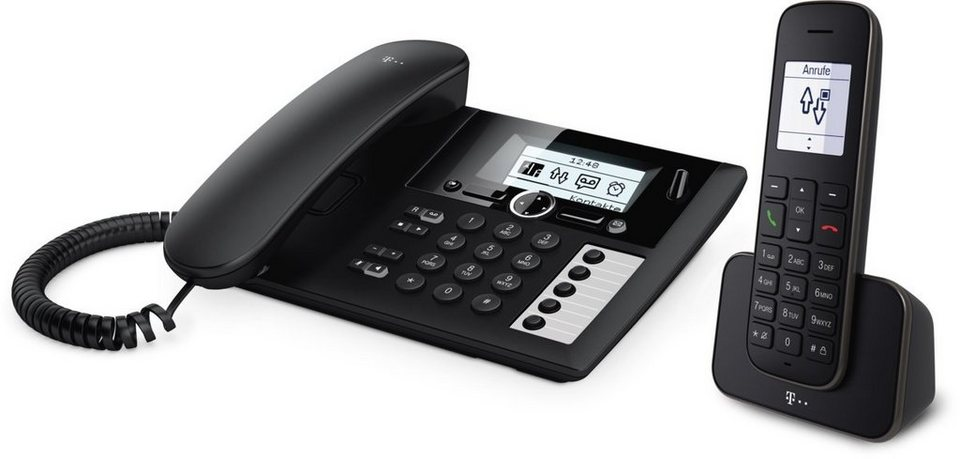 telekom telefon analog schnurlos sinus pa 207 plus 1. Black Bedroom Furniture Sets. Home Design Ideas