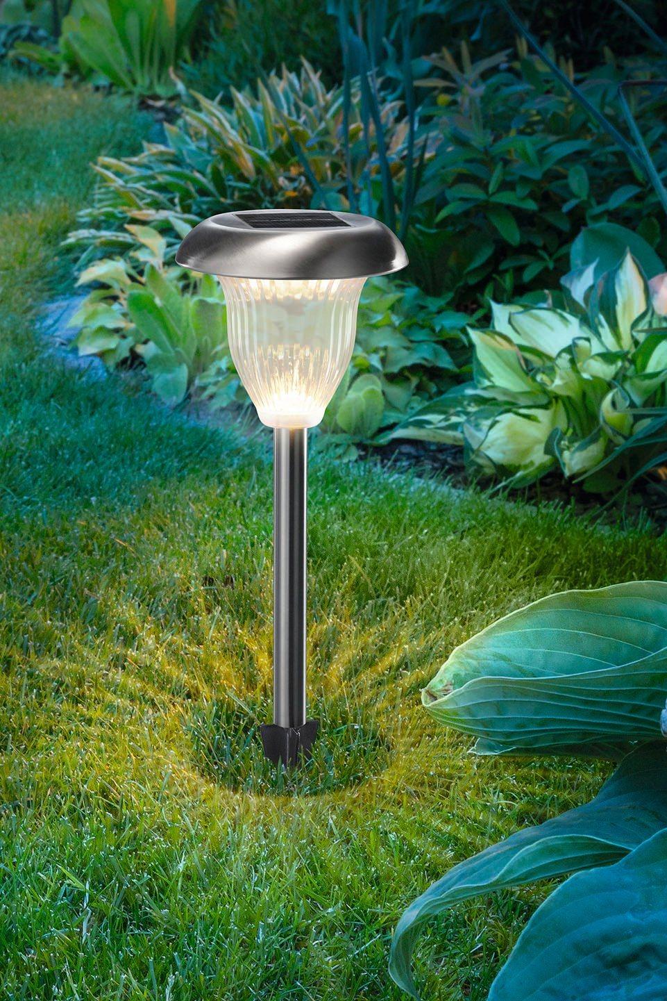 ESOTEC Solarleuchte »Flower Light«, 41 cm Höhe | Lampen > Aussenlampen > Solarleuchten | esotec