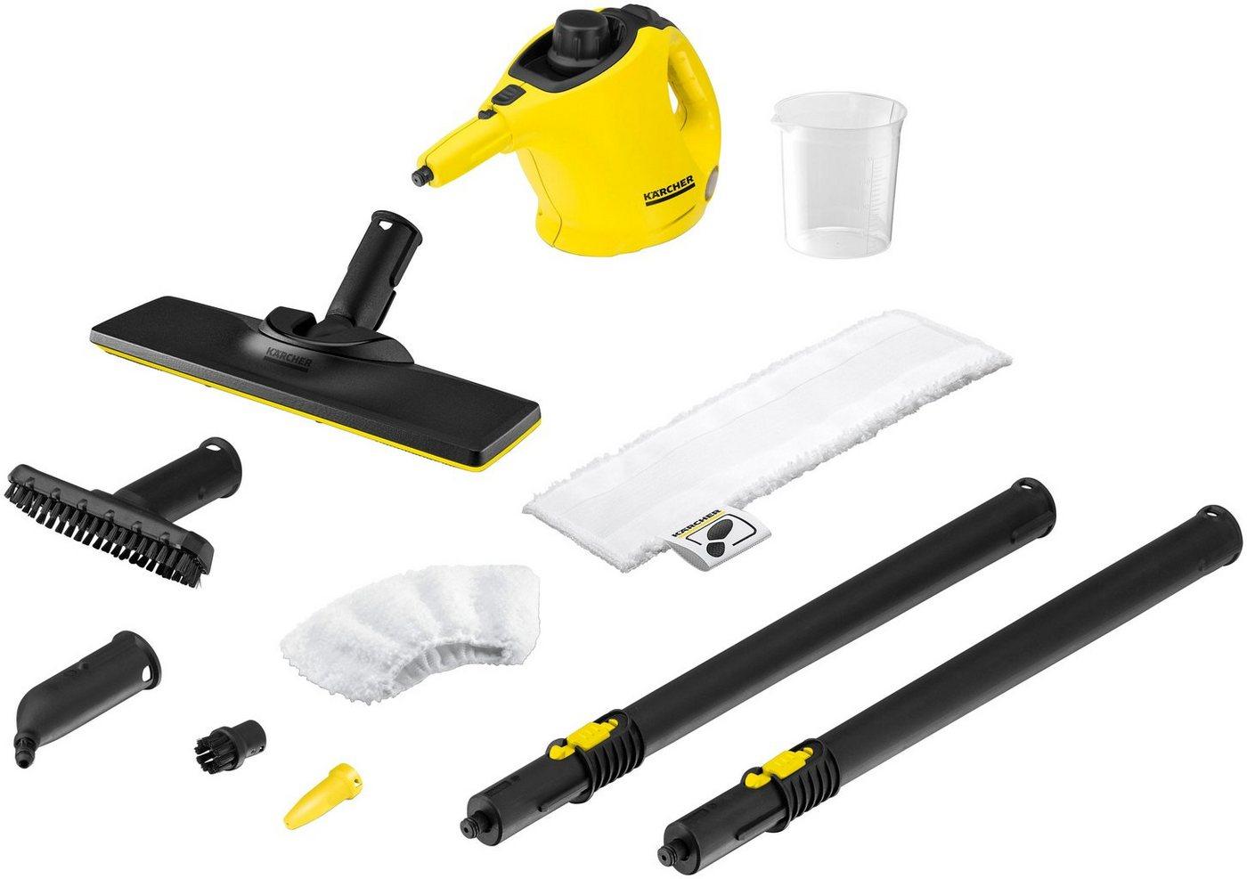 KÄRCHER Dampfreiniger »SC 1 EasyFix « | Flur & Diele > Haushaltsgeräte > Dampfreiniger | Gelb | KÄRCHER