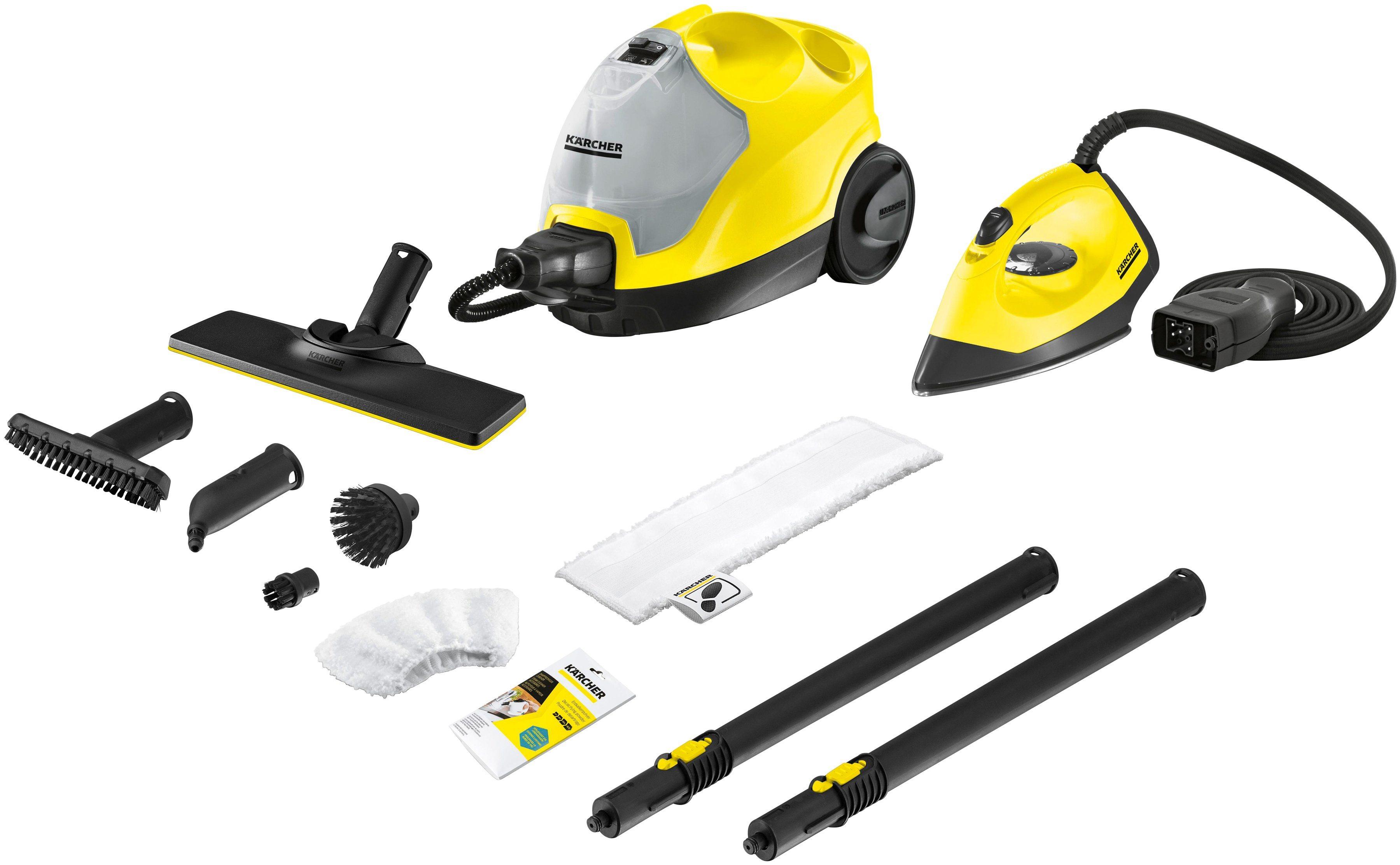 KÄRCHER Dampfreiniger »SC 4 EasyFix Iron « | Flur & Diele > Haushaltsgeräte > Dampfreiniger | KÄRCHER