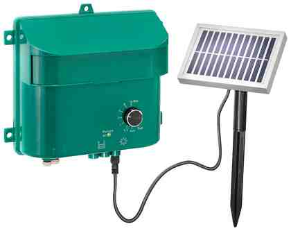 ESOTEC Bewässerungssteuerung »WaterDrops«, Solarbetrieb