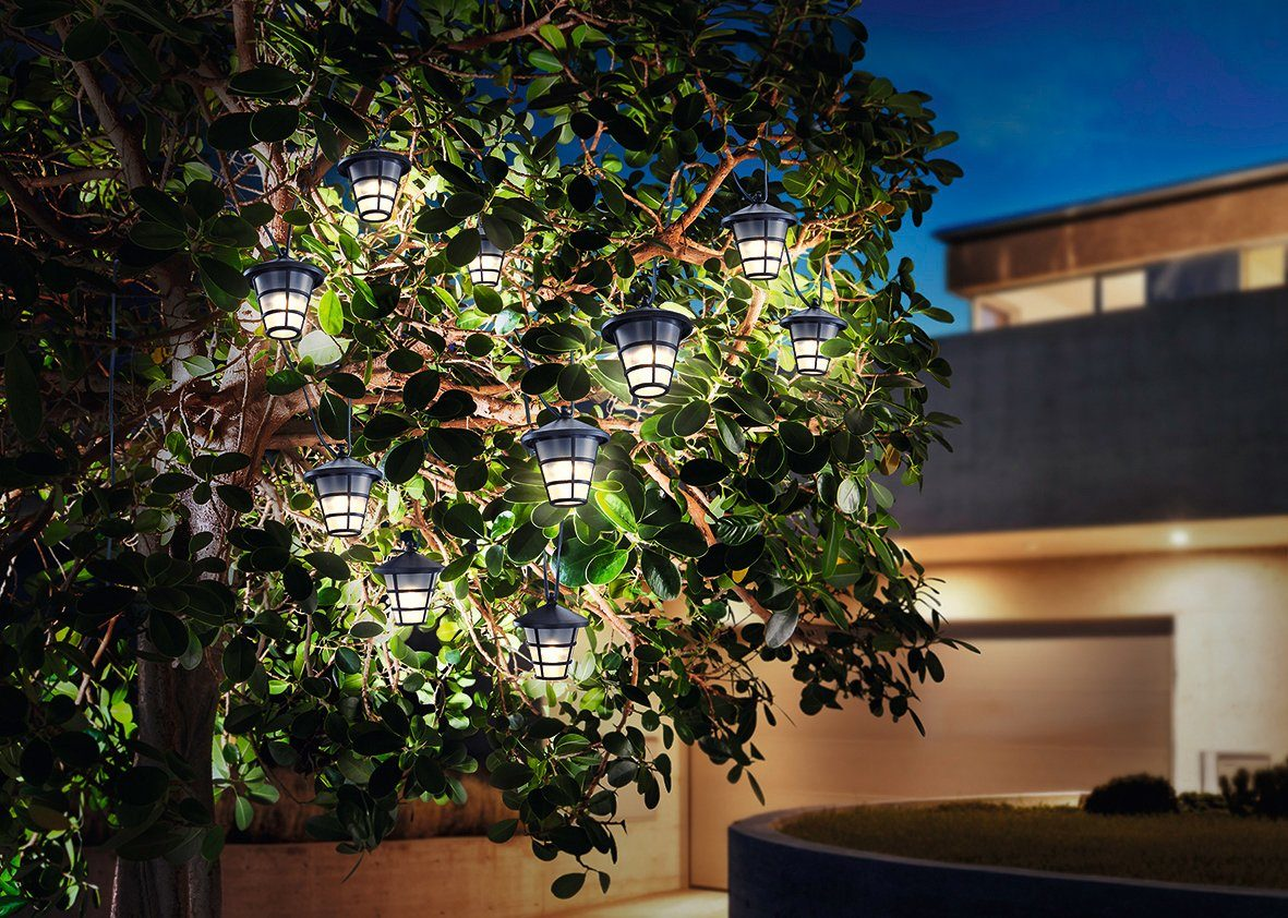 ESOTEC Lichterkette »Asia Style«, 4 m Länge, Solarbetrieb