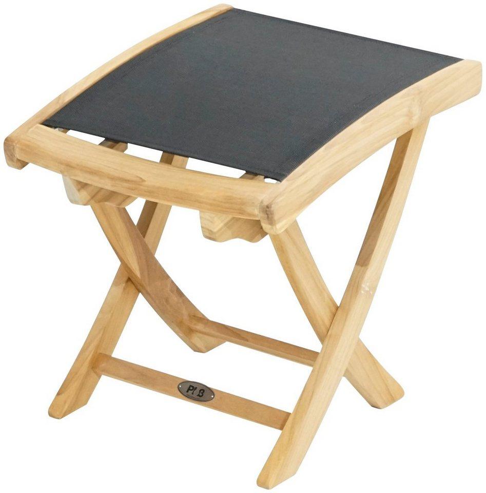 ploss gartenhocker fairchild textil klappbar. Black Bedroom Furniture Sets. Home Design Ideas