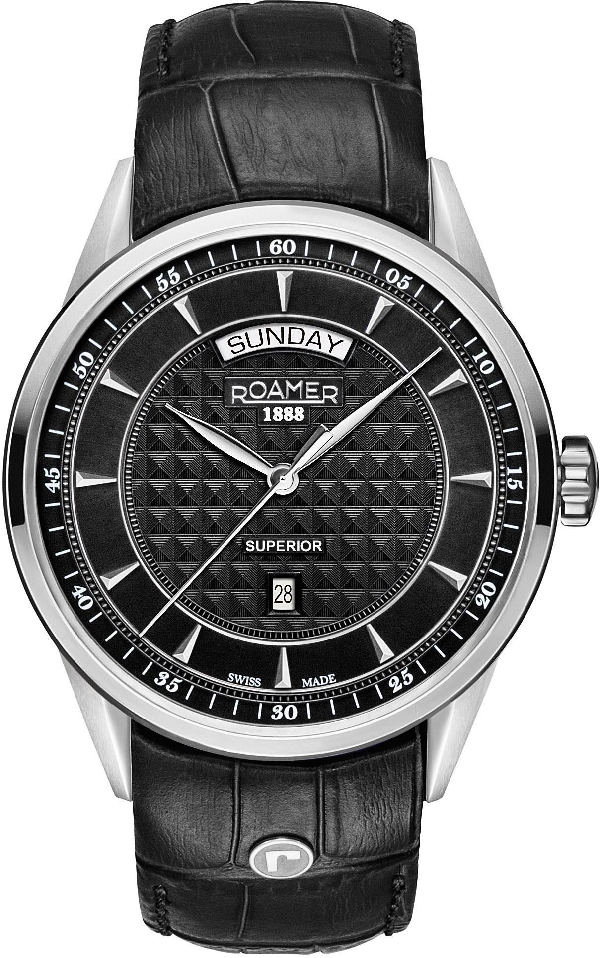 Roamer Schweizer Uhr »Superior Day Date, 508293 41 55 05«
