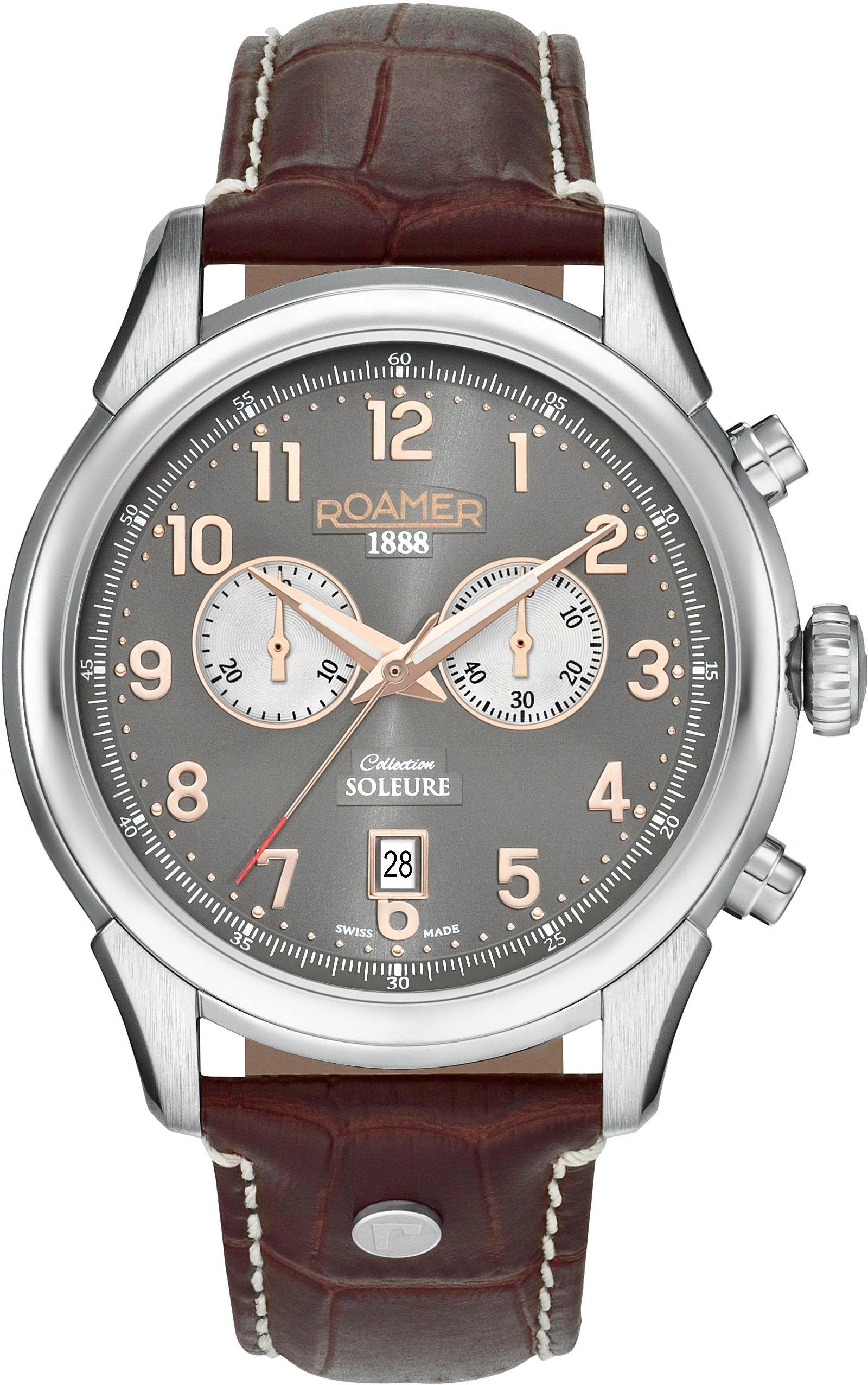 Roamer Schweizer Uhr »Soleure Chrono, 540951 49 06 05«