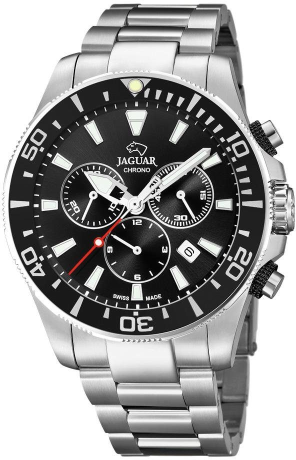 Jaguar Schweizer Uhr »Executive Diver Swiss Made, J861/3« mit dezentraler Sekunde