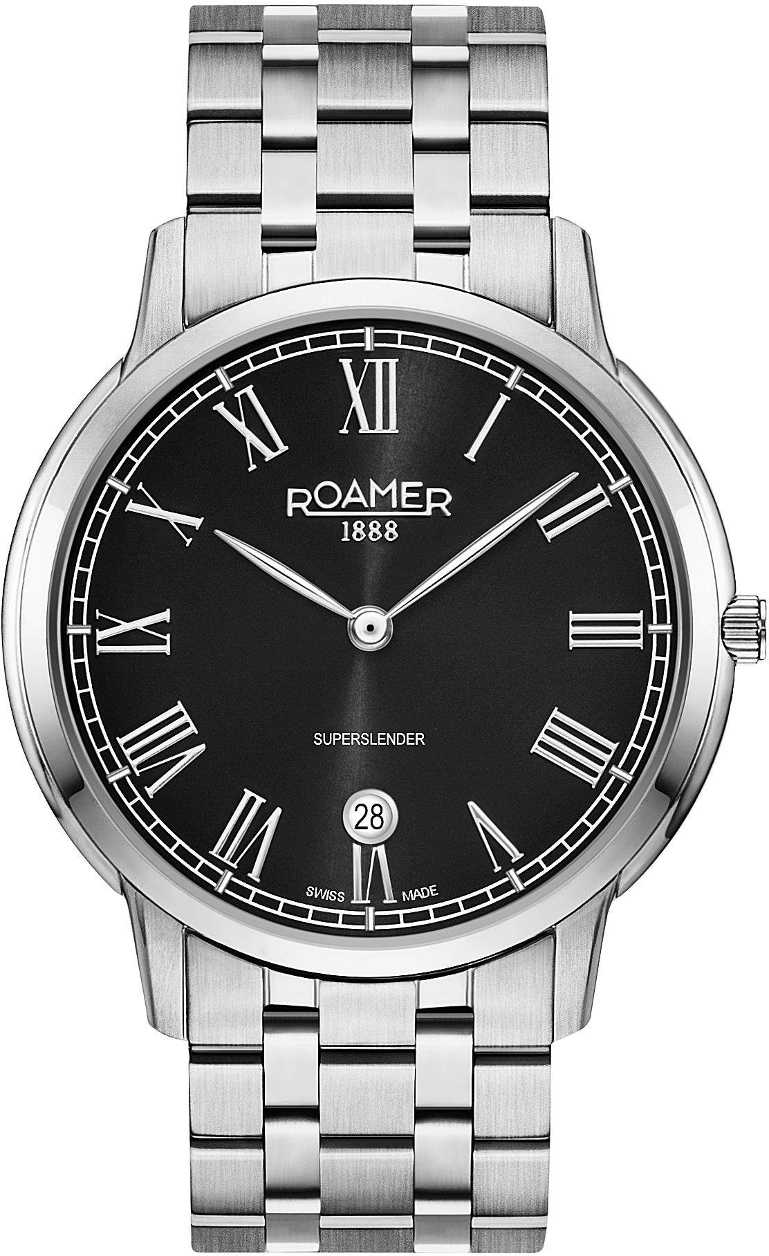 Roamer Schweizer Uhr »Superslender Gents, 515810 41 52 50«