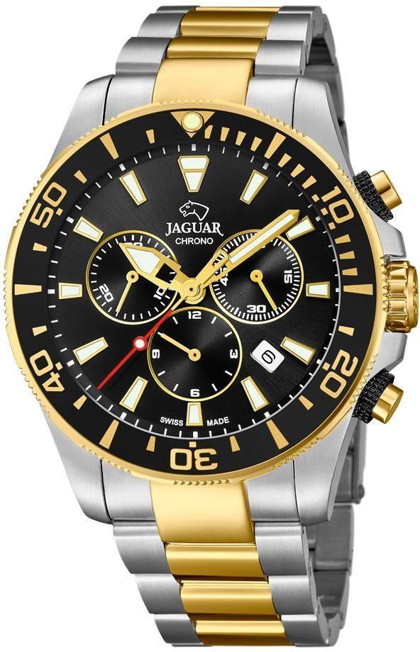 Jaguar Schweizer Uhr »Executive Diver Swiss Made, J862/2« mit dezentraler Sekunde