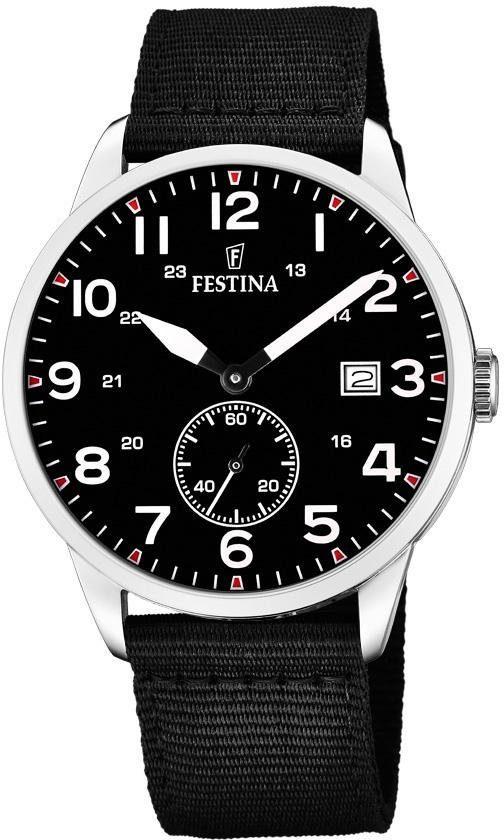 Festina Quarzuhr »F20347/3« (Set, 2 tlg., mit 1 Wechselband) mit dezentraler Sekunde