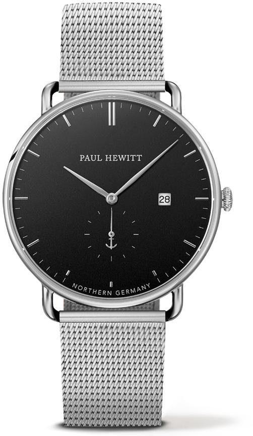PAUL HEWITT Quarzuhr »PH-TGA-S-B-4M«, mit kleiner Sekunde
