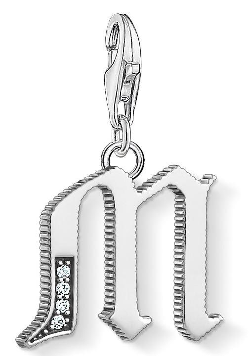 THOMAS SABO Charm-Einhänger »Buchstabe A-Z, 1581-1606-643-21« mit Zirkonia | Schmuck > Charms | THOMAS SABO