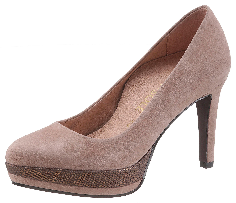 Tamaris High Heel Pumps »Heart & Sole« online kaufen bei