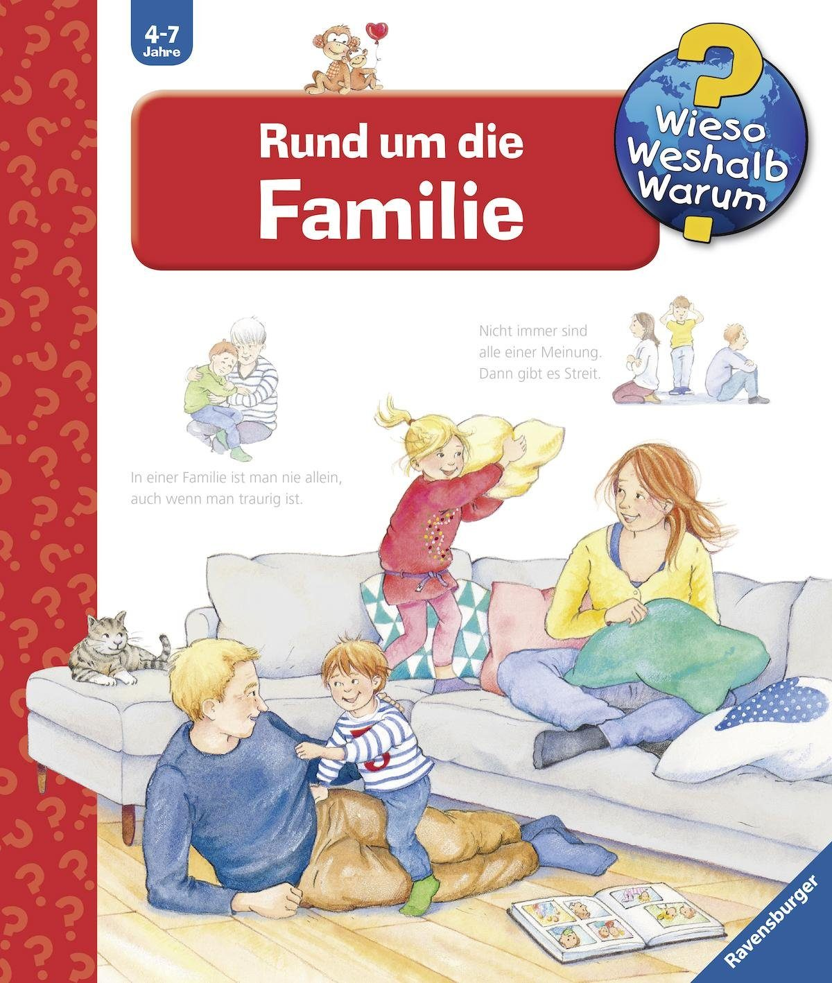 Ravensburger Kinderbuch, »Rund um die Familie / Wieso? Weshalb? Warum?«
