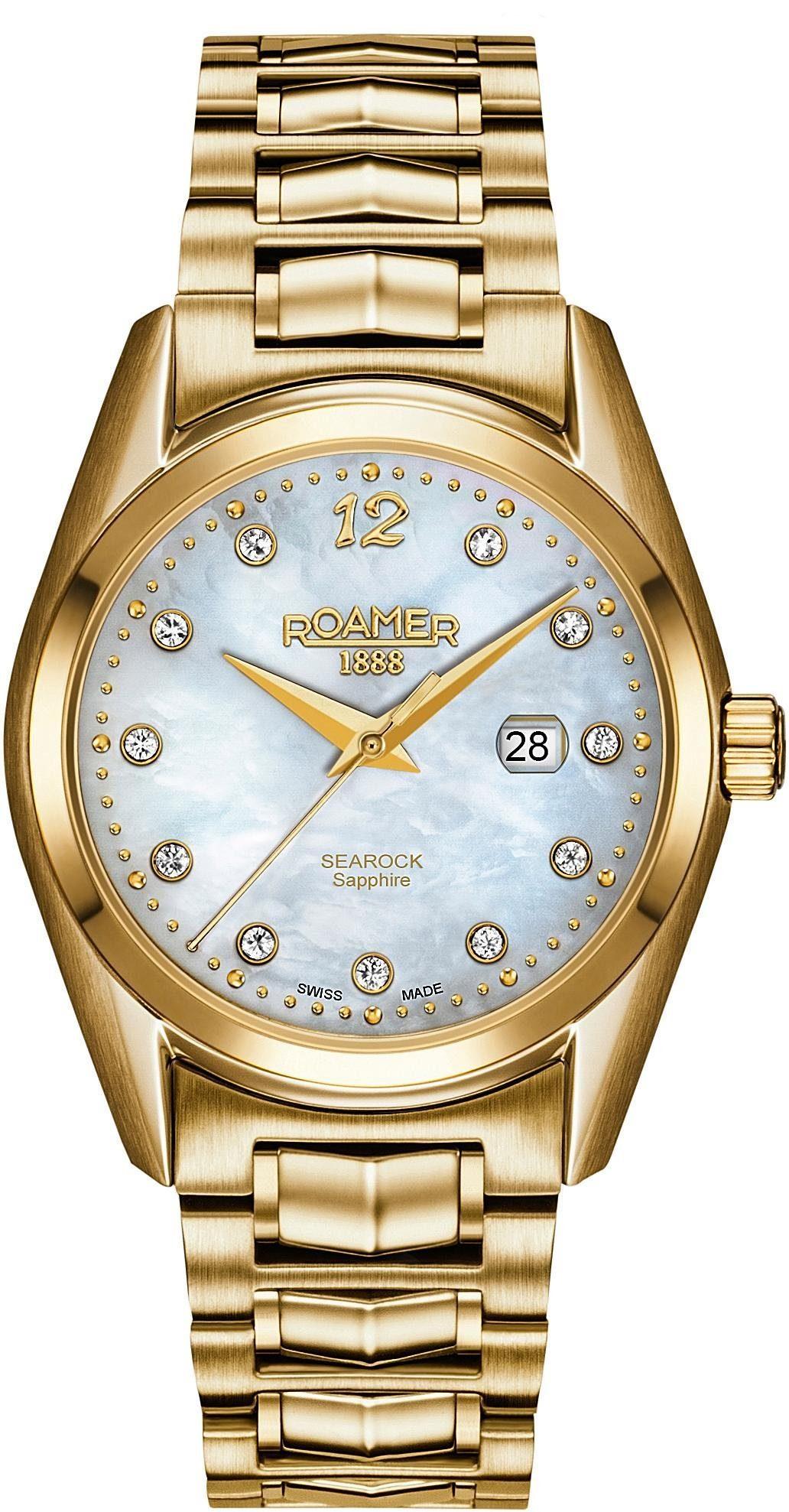 Roamer Schweizer Uhr »Searock Ladies 34 MM, 203844 48 19 20«