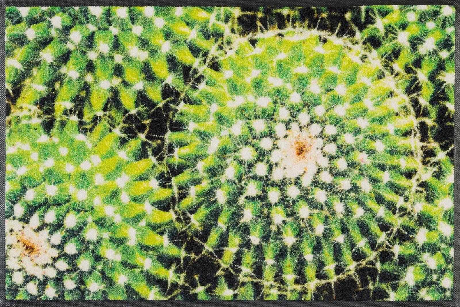 Fußmatte »Spiny Green«, wash+dry by Kleen-Tex, rechteckig, Höhe 7 mm