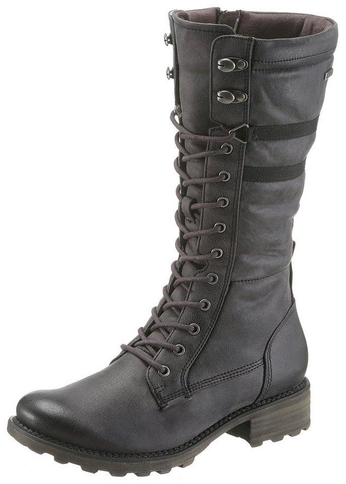 Tamaris Winterstiefel mit wasserabweisender Tex-Ausstattung | Schuhe > Stiefel > Winterstiefel | Grau | Tamaris