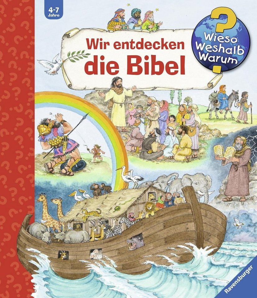 ravensburger kinderbuch wir entdecken die bibel wieso weshalb warum online kaufen otto. Black Bedroom Furniture Sets. Home Design Ideas