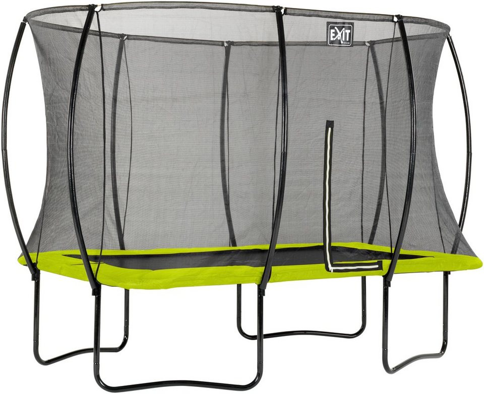 exit trampolin silhouette bxt 214x305 cm mit. Black Bedroom Furniture Sets. Home Design Ideas