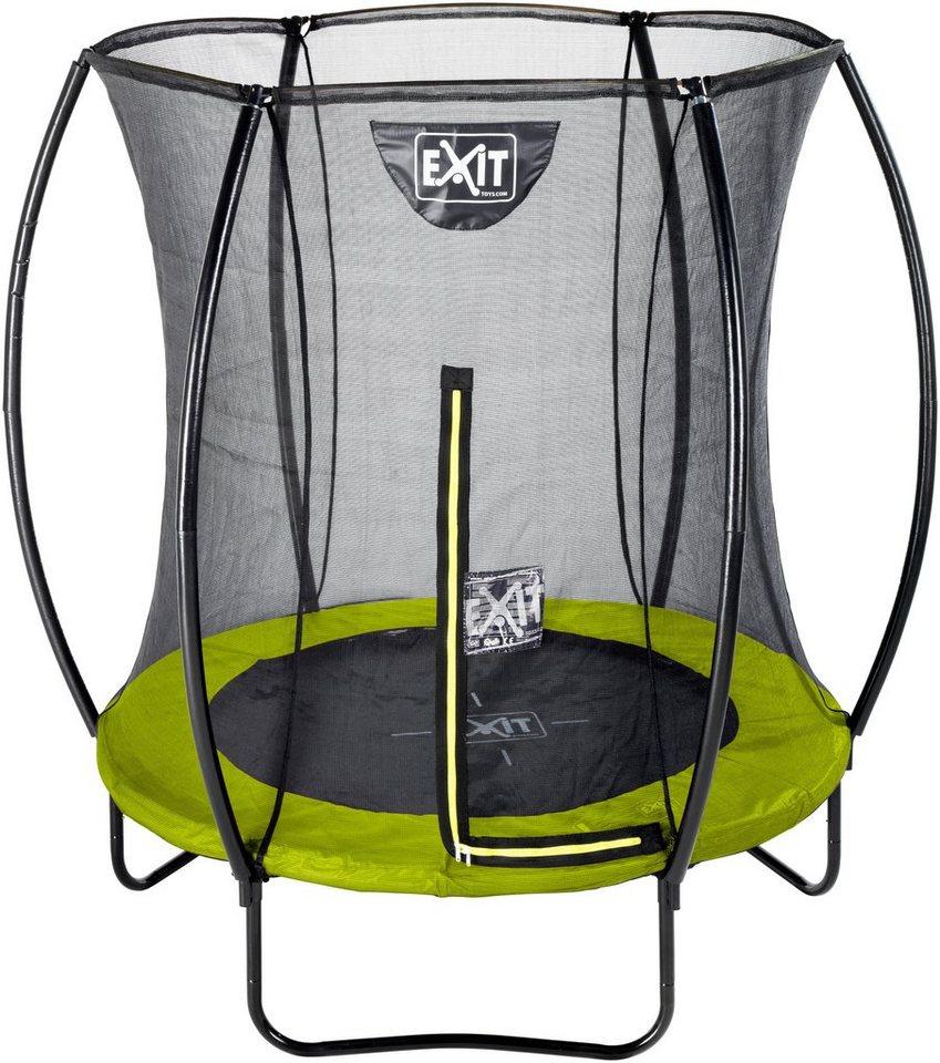 exit trampolin silhouette 183 cm mit sicherheitsnetz. Black Bedroom Furniture Sets. Home Design Ideas