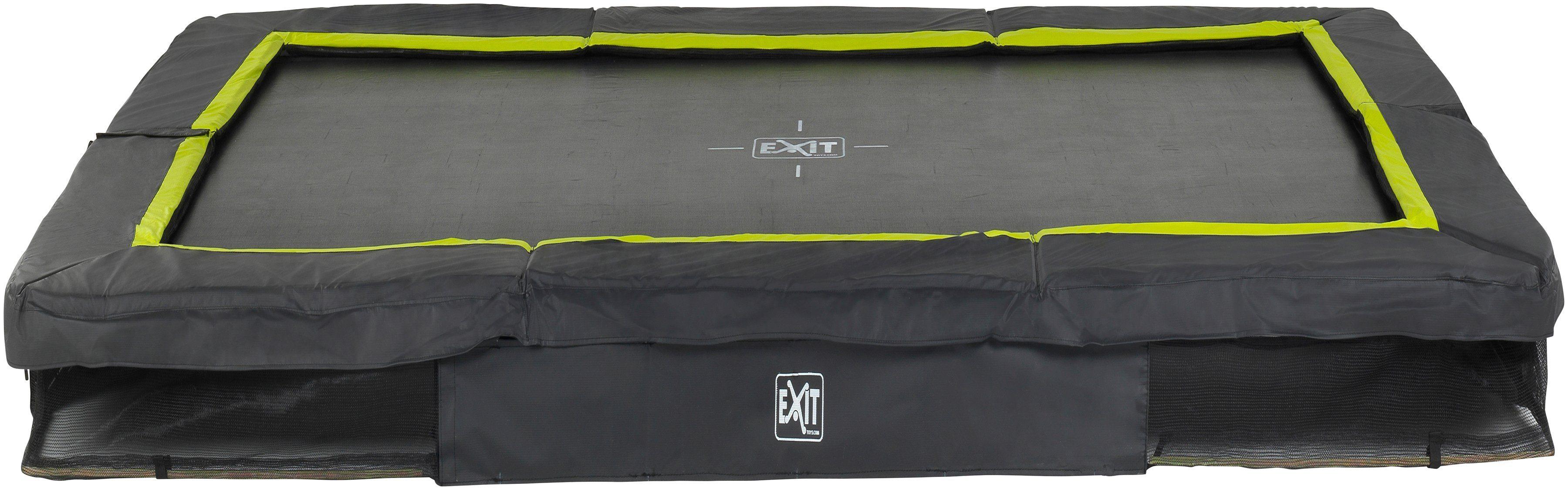 EXIT Trampolin »Silhouette Ground«, BxT: 214x305 cm, schwarz