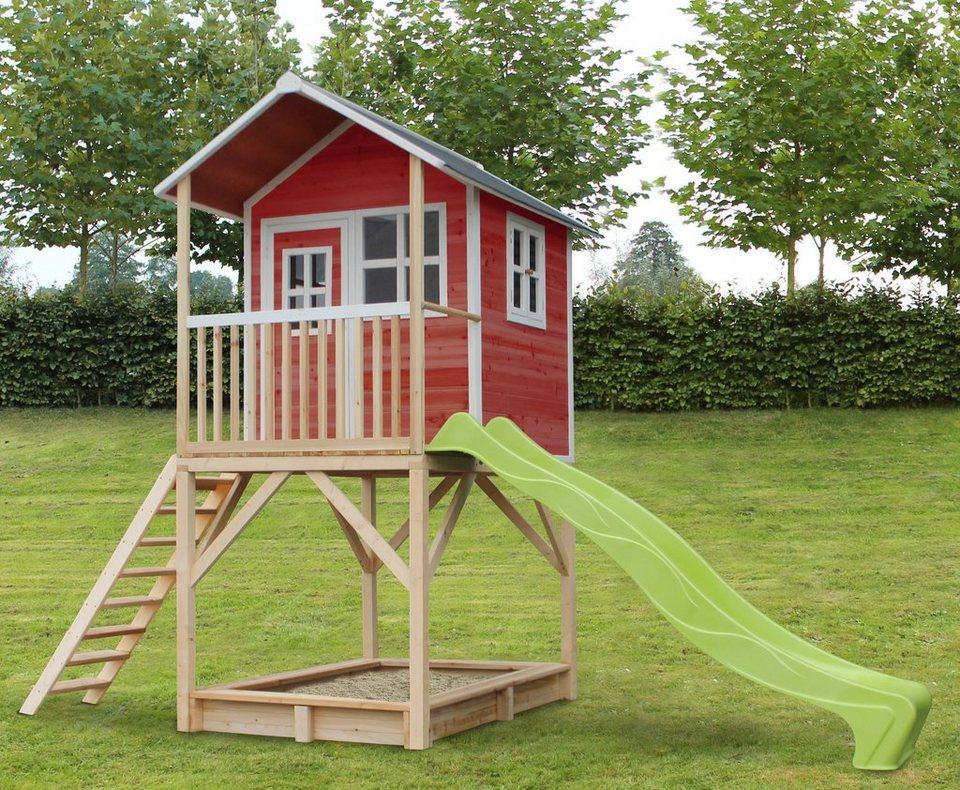 EXIT Spielhaus  Loft 700 , BxTxH: 190x391x269 cm