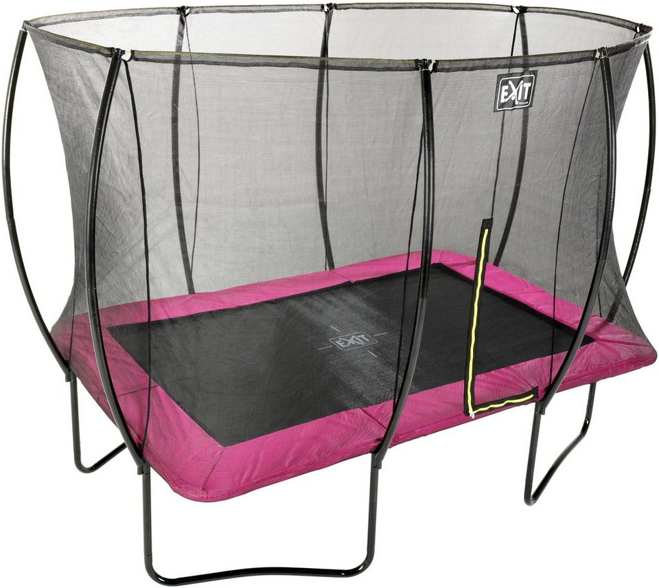 exit trampolin silhouette bxt 214x305 cm mit. Black Bedroom Furniture Sets. Home Design Ideas