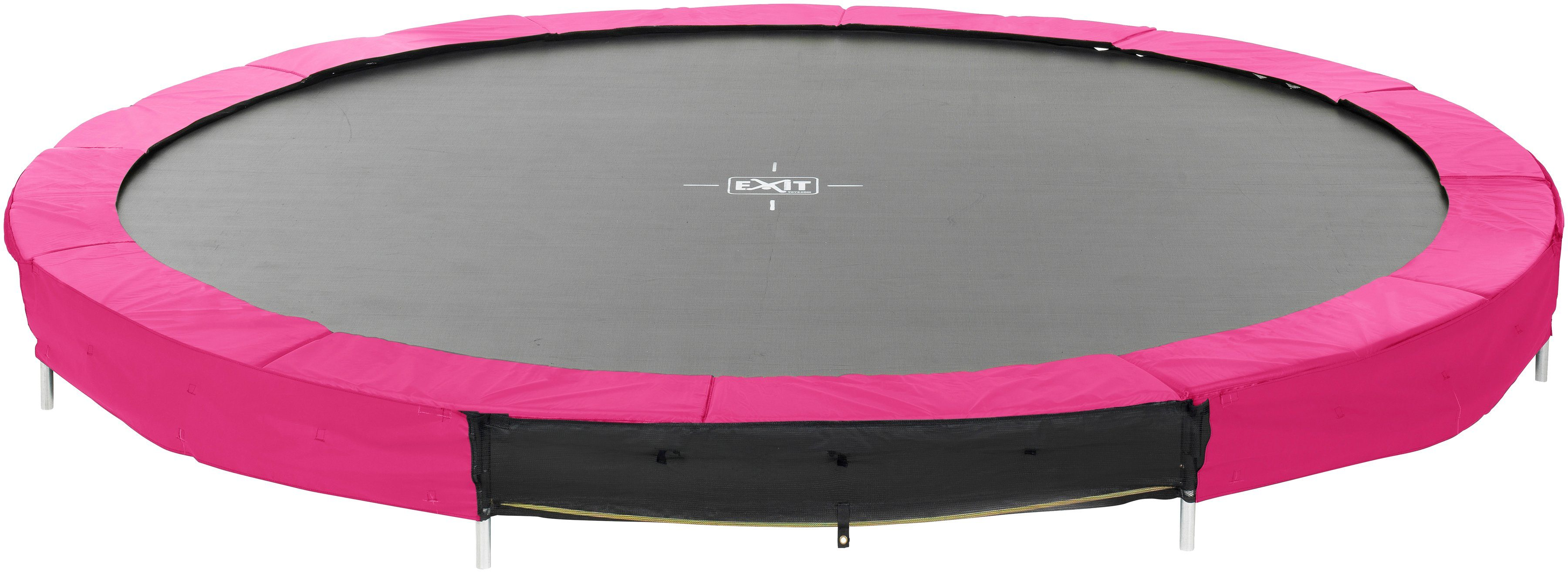 EXIT Trampolin »Silhouette Ground«, Ø 366 cm, rosa