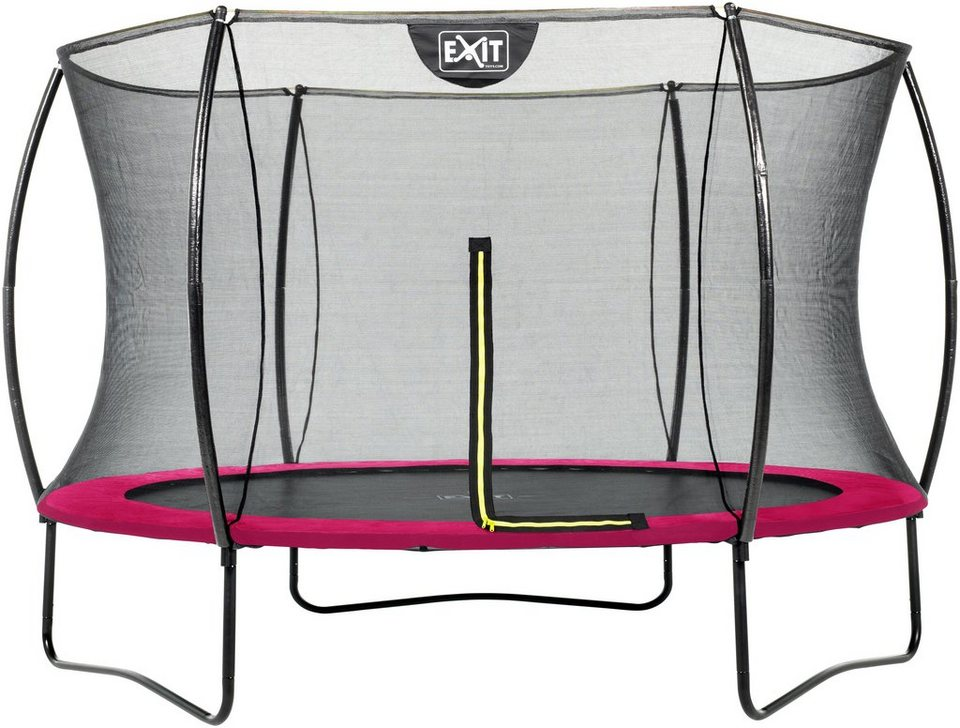 exit trampolin silhouette 305 cm mit sicherheitsnetz rosa online kaufen otto. Black Bedroom Furniture Sets. Home Design Ideas