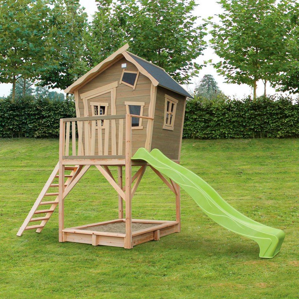 EXIT Spielhaus  Crooky 700 , BxTxH: 183x391x281 cm