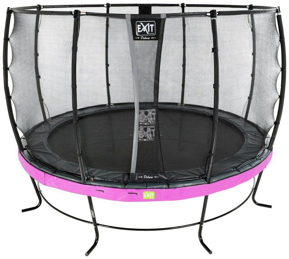 exit trampolin elegant 427 cm mit sicherheitsnetz. Black Bedroom Furniture Sets. Home Design Ideas