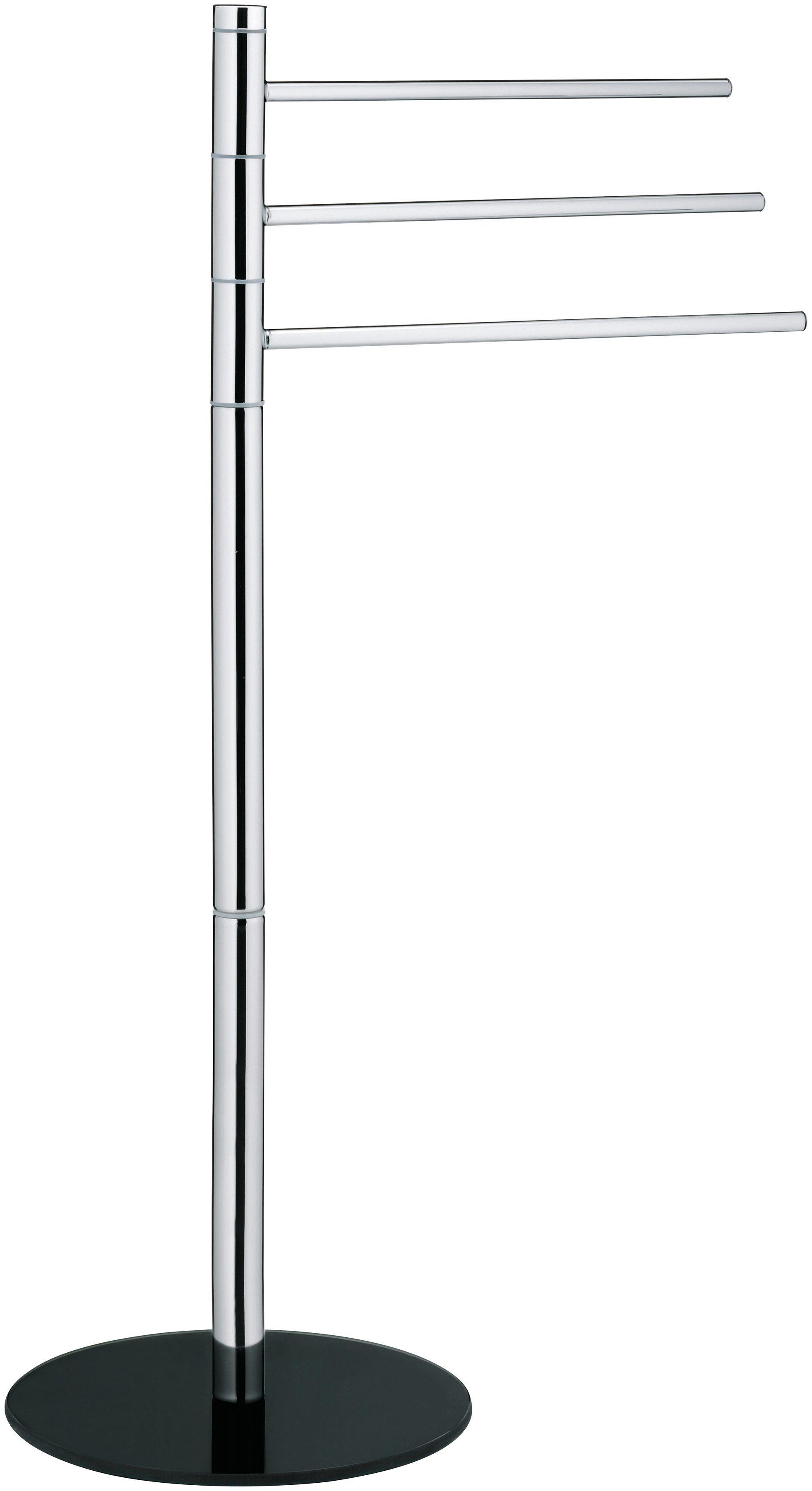KELA Handtuchhalter »Levi«, Metall verchromt, 3-armig, Höhe 85 cm
