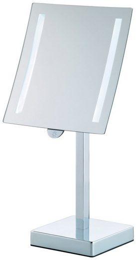 KELA Standspiegel »Sade«, Metall, 12 x 12 x 38 cm