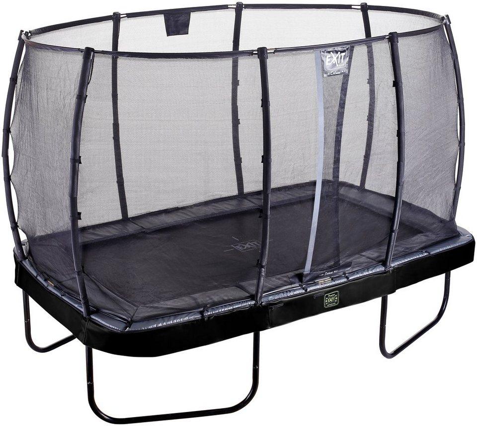 exit trampolin elegant premium bxt 244x427 cm mit. Black Bedroom Furniture Sets. Home Design Ideas