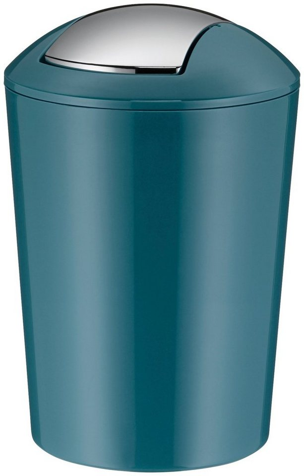 KELA Schwingdeckel Abfalleimer »Marta   5 L«, Kunststoff, Petrol, Höhe