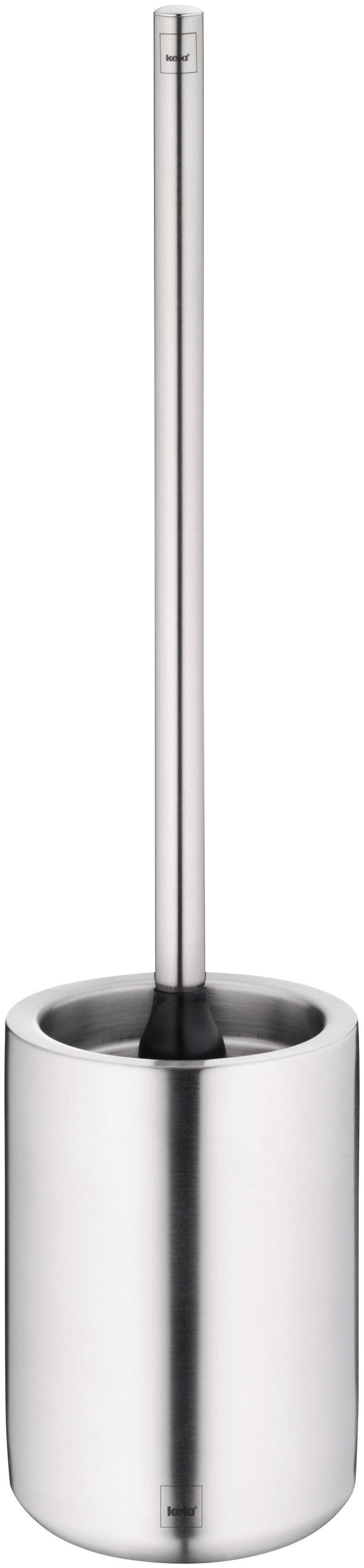 KELA WC-Garnitur »Gabrio«, Edelstahl 18/10 matt, Höhe 47 cm, Ø 11 cm