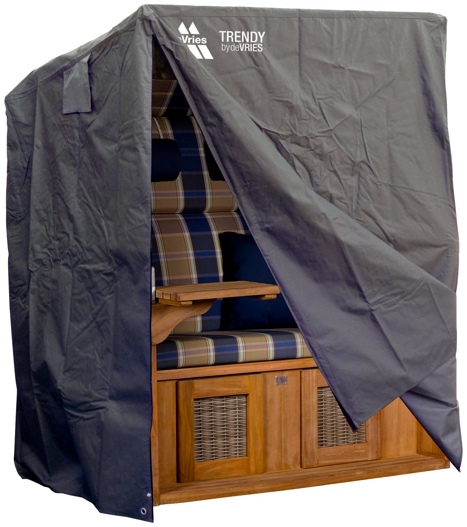Schutzhülle »Classic Größe XL«, dunkelgrau, für Strandkörbe