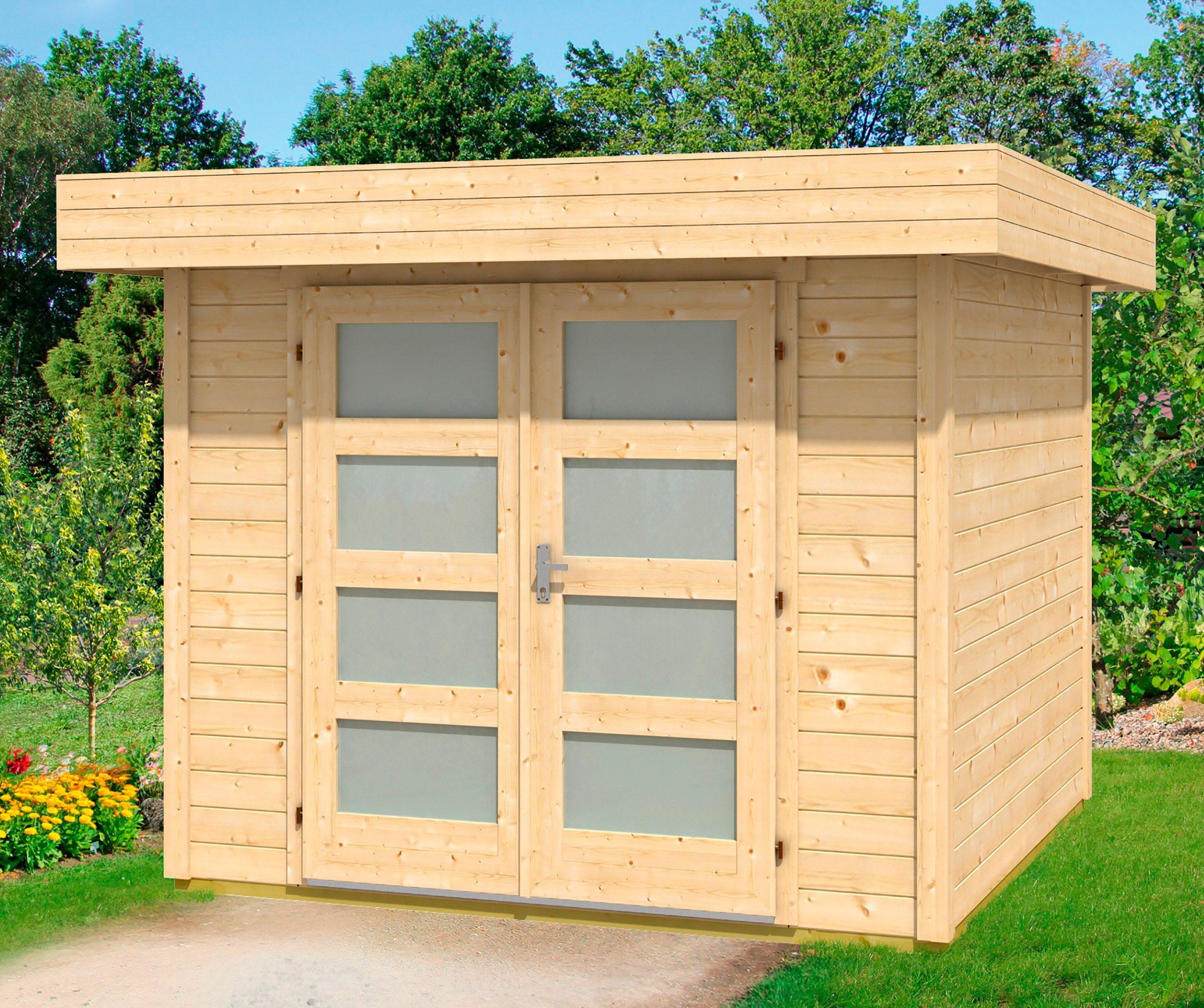 WOLFF Gartenhaus »Varianta A«, BxT: 290x310 cm | Garten > Gartenhäuser | Wolff