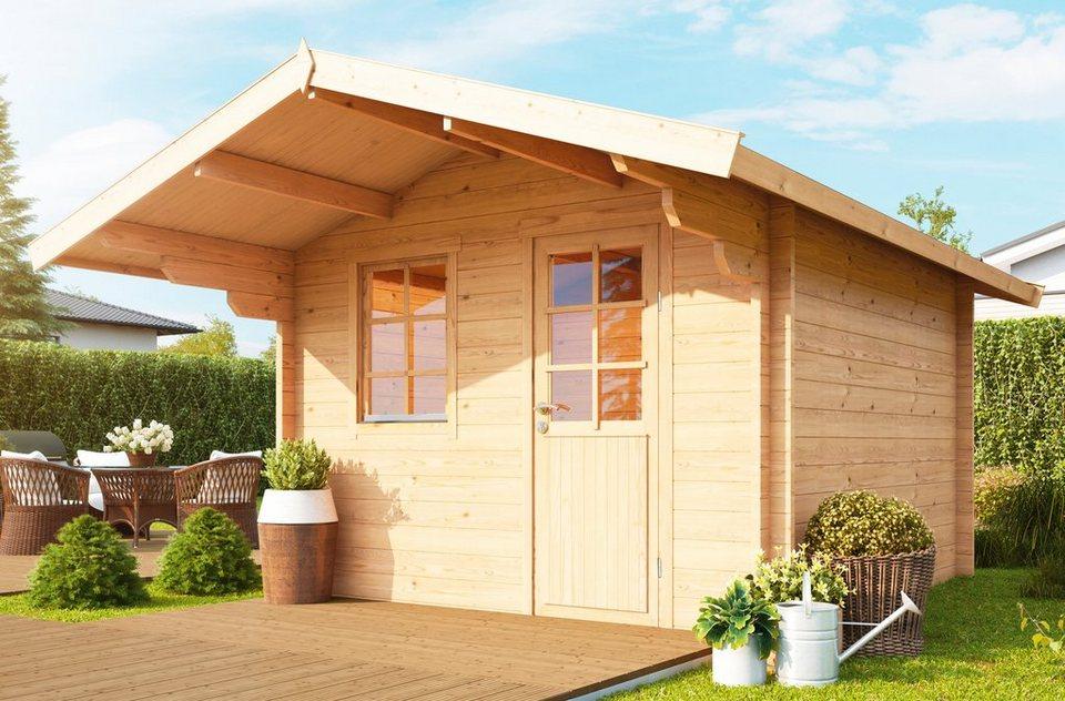wolff gartenhaus skagen 44 a bxt 360x395 cm inkl fu boden online kaufen otto. Black Bedroom Furniture Sets. Home Design Ideas