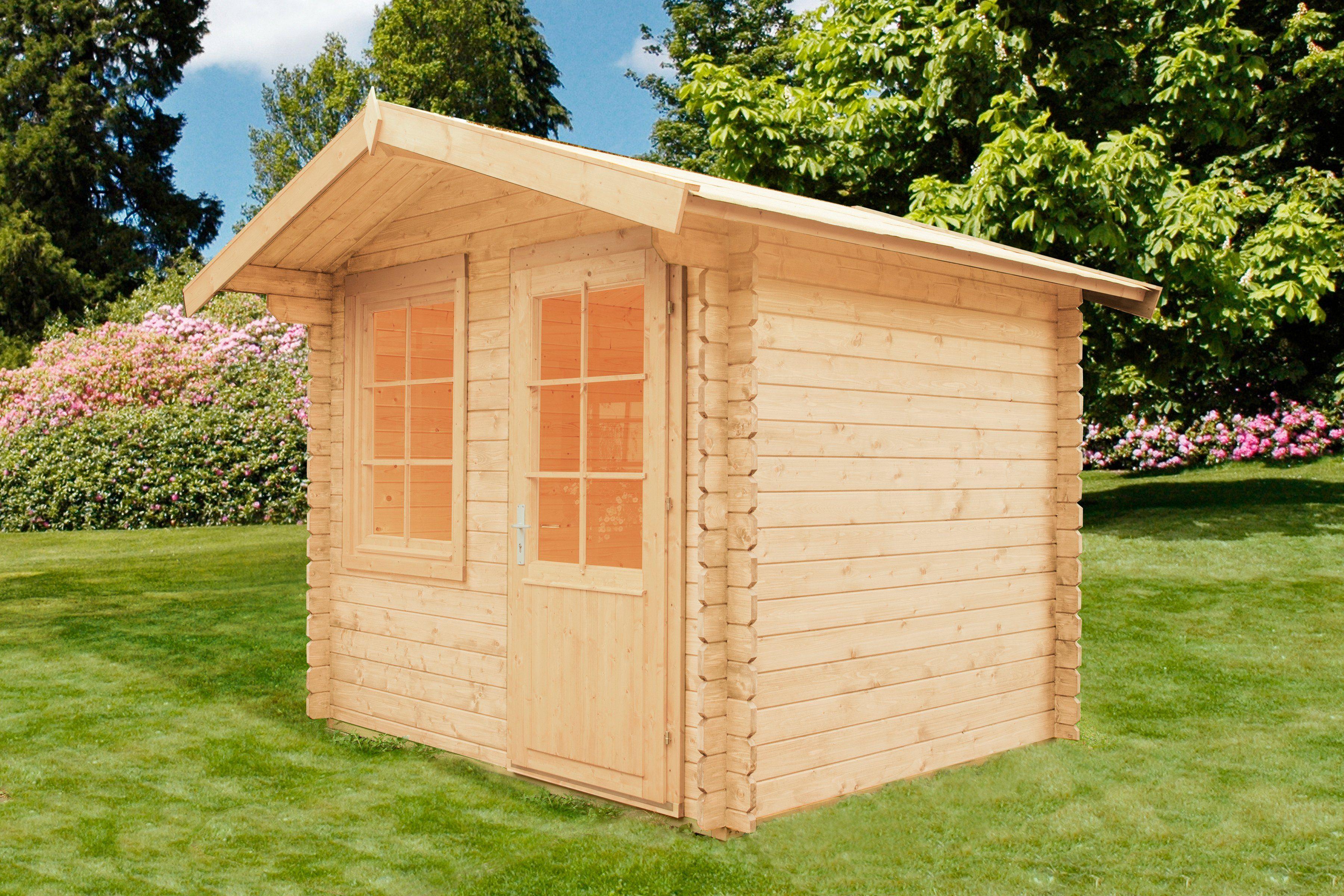 WOLFF Gartenhaus »Caroline 28«, BxT: 290x270 cm